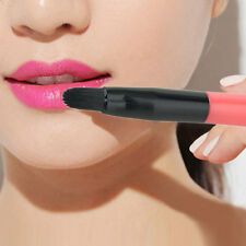 Retractable Portable Lip Eyeliner Lipstick Brush Makeup Cosmetic Beauty Tool DP