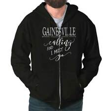 Gainesville, FL is Calling I Must Go Home Womens Shirt City Zipper Hoodie