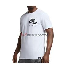 "New Nike Mens Air Force 1 ""Uptowns Finest"" T-Shirt White/Black All Sizes"
