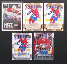 Brendan Gallagher Lot of 6 NHL Hockey Cards Montreal Canadiens Habs