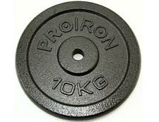 "Cast Iron 1""Weight Plate Discs Weight Plates Men Training 1.25kg 2.5kg 5kg 10kg"