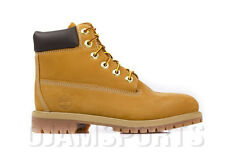 TIMBERLAND JUNIOR 6-INCH PREMIUM WATERPROOF BOOTS WHEAT(12909)