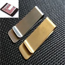 Holder Silver Metal Clamp Cash Clamp Money Clip Credit Card ID Clips Wallet