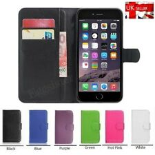 Quality Flip Wallet Leather Case Cover For Apple iPhone +Free Screen Protector!
