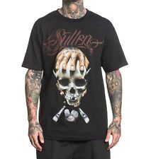 Sullen Mullins Badge 2 Mens T -shirt Tee Streetwear Tattoo Art Urban Black