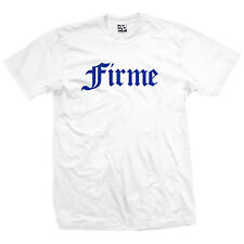 Firme Old English T-Shirt - Lowrider Chicano Chingon Tee - All Sizes & Colors
