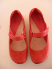 Clarks Active Air red mary jane style shoes Size 6.5uk