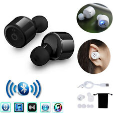 NEW Mini Twins True Wireless Bluetooth Stereo Headset In-Ear Earphones Earbuds