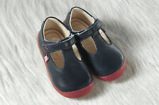 Pololo Mini Pedro Eco friendly Leather Shoes for Toddlers - Unisex - blue