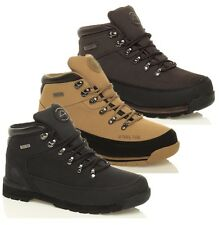 MENS WORK SAFETY STEEL TOE CAP BOOTS  LEATHER HIKING  SHOES TRAINERS SIZE 7-11