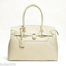 LOEM brand lock pockets shoulder Bag handbag Designer Inspired faux leather LM