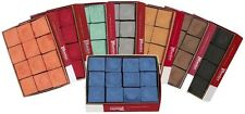Master Pool Cue Tip Billiards Chalk Box of 12 Available in Various Colors