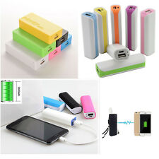 5600mAh 2600mAh USB Portable External Battery Charger Power Bank Case For Phone
