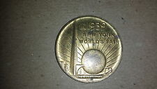 1939 New York World's Fair coin 150th Anniv George Washington Inauguration
