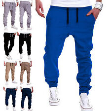 ST Mens Casual Jogger Dance Sportwear Harem Pants Slacks Trousers Sweatpants