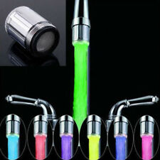 Temperature Sensor Changing Stream RGB Faucet Color Light Water Tap LED