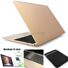 Protective Hard Case for Apple Macbook /MacBook Pro Laptop +Screen +Sleeve Bag