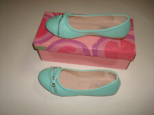 NEW KID FASHION SHOES STYLE  BALLET FLATS NEW COLOR TURQUOISE  ( SPRING SALE )