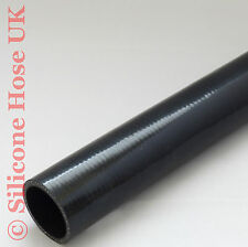 Silicone Straight Reinforced Hose 102mm ID Black 1 metre or 500mm Coolant Turbo