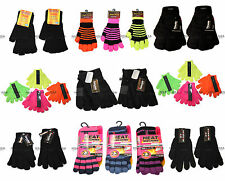 Mens Ladies Boys Girls Childrens Magic / Thermal / Thinsulate / Winter Gloves