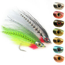 FISH-SKULL BAITFISH HEADS Weighted Streamer Heads 6 Colors for Fly Tying - NEW!