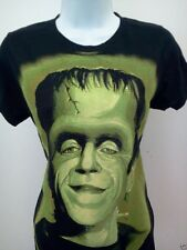 WOMENS HERMAN MUNSTER gothic rock T-SHIRT new THE MUNSTERS size sm med lg xl