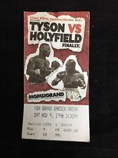 MIKE TYSON vs EVANDER HOLYFIELD 1st BOXING FIGHT TICKET STUB 1996