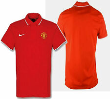 NIKE MANCHESTER UNITED TRAVEL POLO SHIRT Red/White.