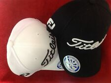 Titleist Sport Mesh ProV1-FJ Fitted Golf Hat/Cap Blk/Wht TH6FSM-01
