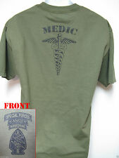SPECIAL FORCES AIRBORNE RANGER MEDIC T-SHIRT/  NEW