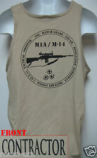 PRIVATE MILITARY CONTRACTOR TANK TOP/ M1A M14 / NEW