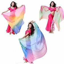 Belly Dance Accessories Silk Wrap Scarves Shawl Veil Scarf Dancing Costume skirt
