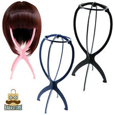New Folding Plastic Stable Durable Wig Hair Hat Cap Holder Stand Display Tool O2