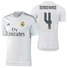 ADIDAS SERGIO RAMOS REAL MADRID AUTHENTIC HOME MATCH JERSEY 2015/16