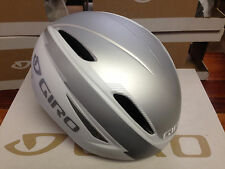 Giro Air Attack - Matte White/Silver - Aero Cycling Helmet