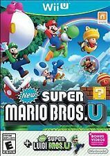 New Super Mario Bros. U + New Super Luigi U  (Nintendo Wii U, 2015) No Manual