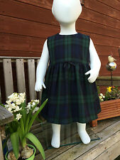 New  Tartan Baby Dress (0-3 months to 1-2 years) Selection of Tartans Available