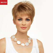 MAYSU Short Human Hair Wigs For Women Brazilian Virgin Short Hair Wig