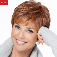 Layered Short Human Hair Wigs For Women Brazilian Virgin Hair Short Human Wig