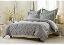 King/CKing Full/Queen Traditional Multi Colored Floral Duvet 5 Pc Comforter Set