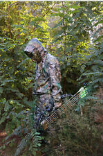 New 3D Leaf Woodland Camouflage Camo Ghillie Suit  Hunting Shooting Clothing