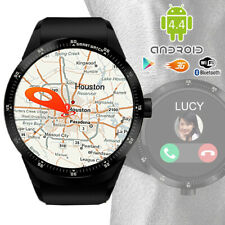 GSM 3G UNLOCKED! Android 5.1 SmartWatch Phone WiFi +GPS + Heart Rate + 32gb card