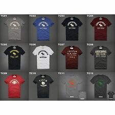 NWT ABERCROMBIE & FITCH MENS GRAPHIC TEE MULTI COLOR SIZE MEDIUM A&F