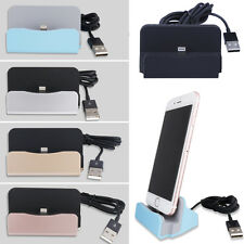 Desktop Charger Stand Dock Station Sync Charge Cradle for iPhone 5 6 7 6s Plus