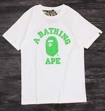 2017 Men's Japan Green Big Ape Logo Casual Bape A Bathing Ape T-Shirt Summer