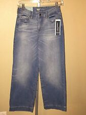 Women's Old Navy High Rise Wide Leg Denim Jeans Pants, Size 0