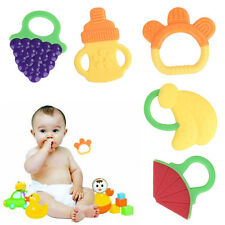 Baby Appease Silicone Teething Teether Chewing Fruit Shape Teether Teething Toy