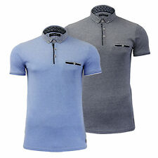 Mens Polo T Shirt Brave Soul Kaiko  Collared Short Sleeve Top S-XL