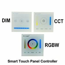 Mi Light Led CCT dimmer RGBW Controller Smart Touch Panel Wall Switch 12V 24V