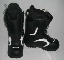 Forum Men's League SLR Snowboard Winter Boots Black White Size US 8.5 NEW